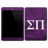 iPad Mini 3 Skin-Greek Letters