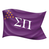 Large Decal-Sigma Pi Waving Flag Image
