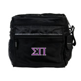 All Sport Black Cooler-Greek Letters Two Tone