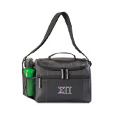 Edge Black Cooler-Greek Letters Two Tone