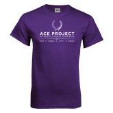 Purple T Shirt-ACE Project w/scholar