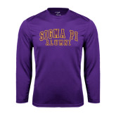 Performance Purple Longsleeve Shirt-Alumni