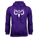 Purple Fleece Hoodie-Icon