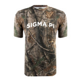 Realtree Camo T Shirt-Arched Sigma Pi