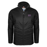 Columbia Mighty LITE Black Jacket-Greek Letters Two Tone