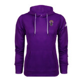 Adidas Climawarm Purple Team Issue Hoodie-Crest