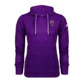 Adidas Climawarm Purple Team Issue Hoodie-Crest