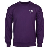 Purple Fleece Crew-Icon