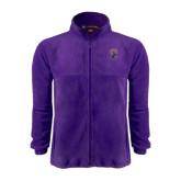 Fleece Full Zip Purple Jacket-Crest