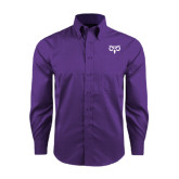 Red House Purple Long Sleeve Shirt-Icon