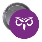 2.25 inch Round Button-Sigma Pi Owl Button