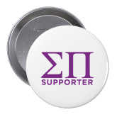 2.25 inch Round Button-Sigma Pi Supporter Button