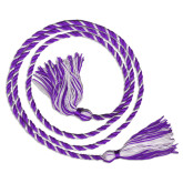 Purple/White Graduation Honor Cord-