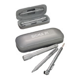 Silver Roadster Gift Set-Sigma Pi Engraved