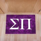 Full Color Indoor Floor Mat-Greek Letters