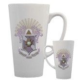 Full Color Latte Mug 17oz-Crest