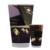Full Color Glass 17oz-Sigma Pi Badges Image