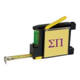 Measure Pad Leveler 6 Ft. Tape Measure-Greek Letters