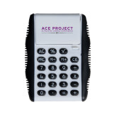 White Flip Cover Calculator-ACE Project
