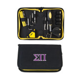 Compact 23 Piece Tool Set-Greek Letters Two Tone