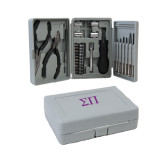 Compact 26 Piece Deluxe Tool Kit-Greek Letters