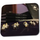 Full Color Mousepad-Sigma Pi Badges Image