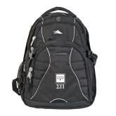 High Sierra Swerve Compu Backpack-Vertical Logomark w/Letters
