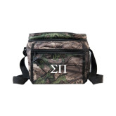 Big Buck Camo Junior Sport Cooler-Greek Letters