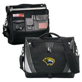 Slope Black/Grey Compu Messenger Bag-Cougar Head