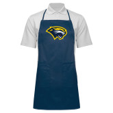 Full Length Navy Apron-Cougar Head