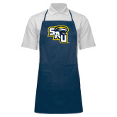 Full Length Navy Apron-SAU stepped with Cougar Head