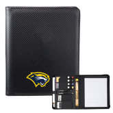 Carbon Fiber Tech Padfolio-Cougar Head