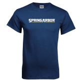 Navy T Shirt-Spring Arbor