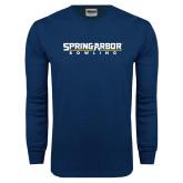 Navy Long Sleeve T Shirt-Bowling