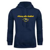 Navy Fleece Hoodie-Cougs Gotta Eat