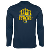 Syntrel Performance Navy Longsleeve Shirt-Bowling