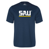 Syntrel Performance Navy Tee-SAU