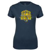 Ladies Syntrel Performance Navy Tee-Bowling