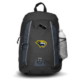 Impulse Black Backpack-Cougar Head