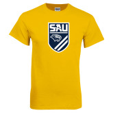 Gold T Shirt-Soccer Shield