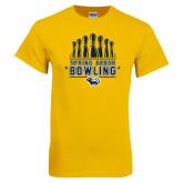 Gold T Shirt-Bowling