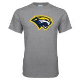 Grey T Shirt-Cougar Head