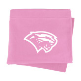 Pink Sweatshirt Blanket-Cougar Head