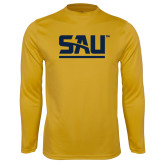 Syntrel Performance Gold Longsleeve Shirt-SAU