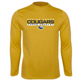 Syntrel Performance Gold Longsleeve Shirt-Cross Country