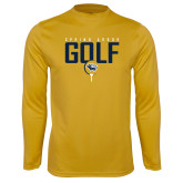 Syntrel Performance Gold Longsleeve Shirt-Golf