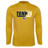 Syntrel Performance Gold Longsleeve Shirt-Tennis