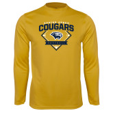 Syntrel Performance Gold Longsleeve Shirt-Softball