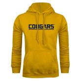Gold Fleece Hoodie-Cougars