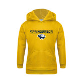 Youth Gold Fleece Hoodie-Spring Arbor with Head
